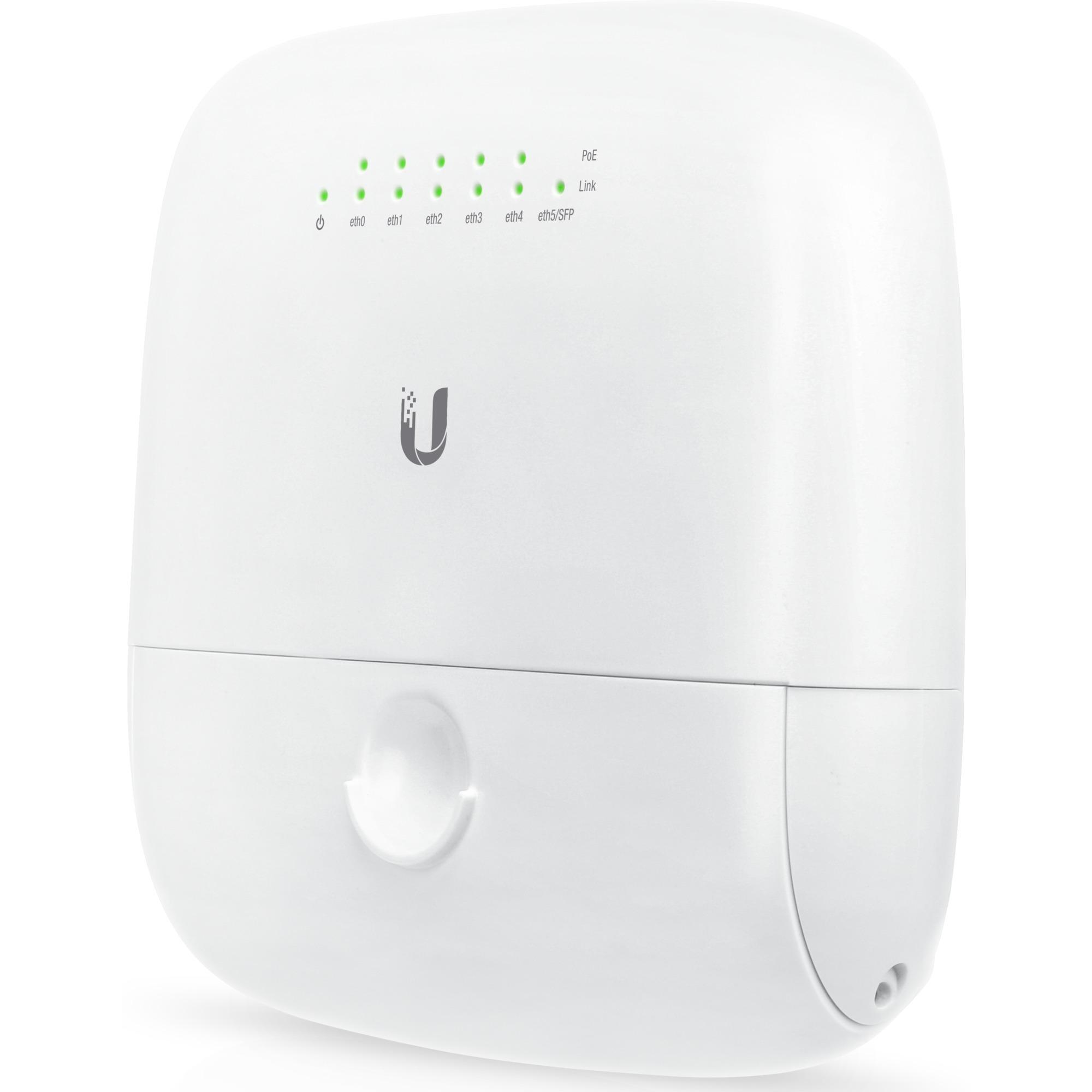 EP-R6 switch L3 Gigabit Ethernet (10/100/1000) Blanco Energía sobre Ethernet (PoE), Router