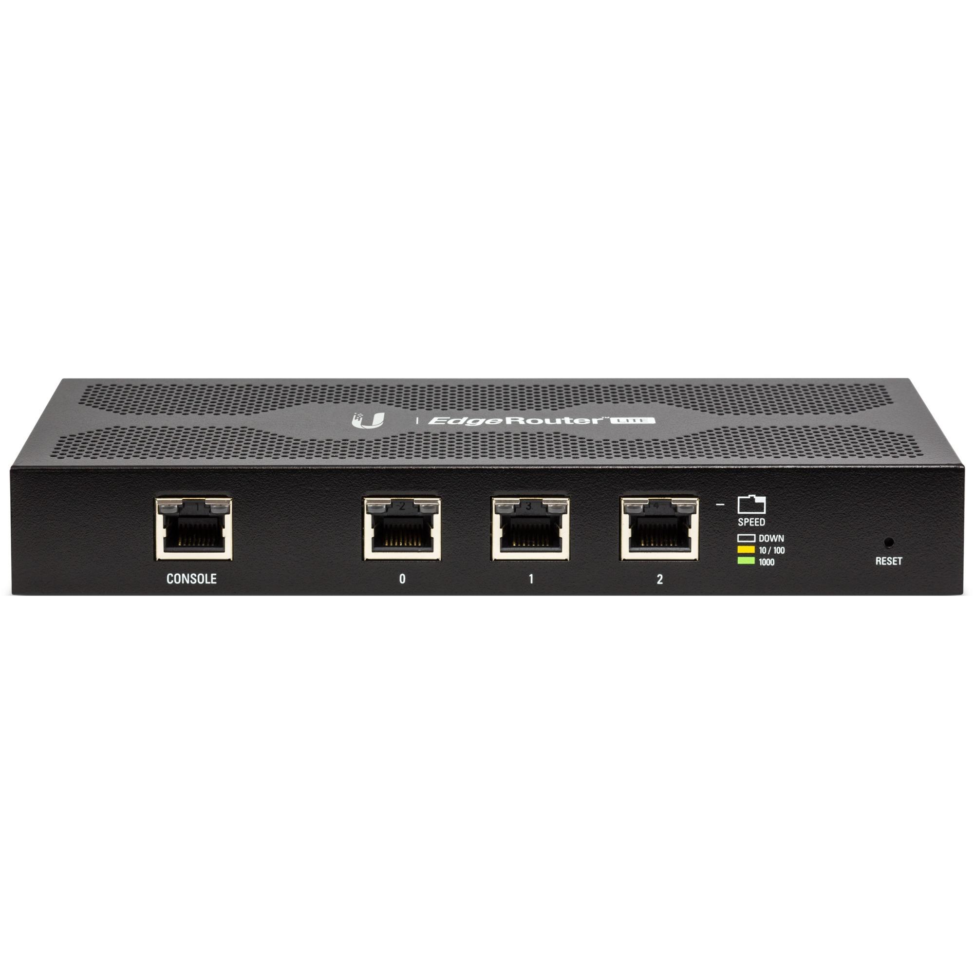 EdgeRouter ERLITE-3 router Gigabit Ethernet