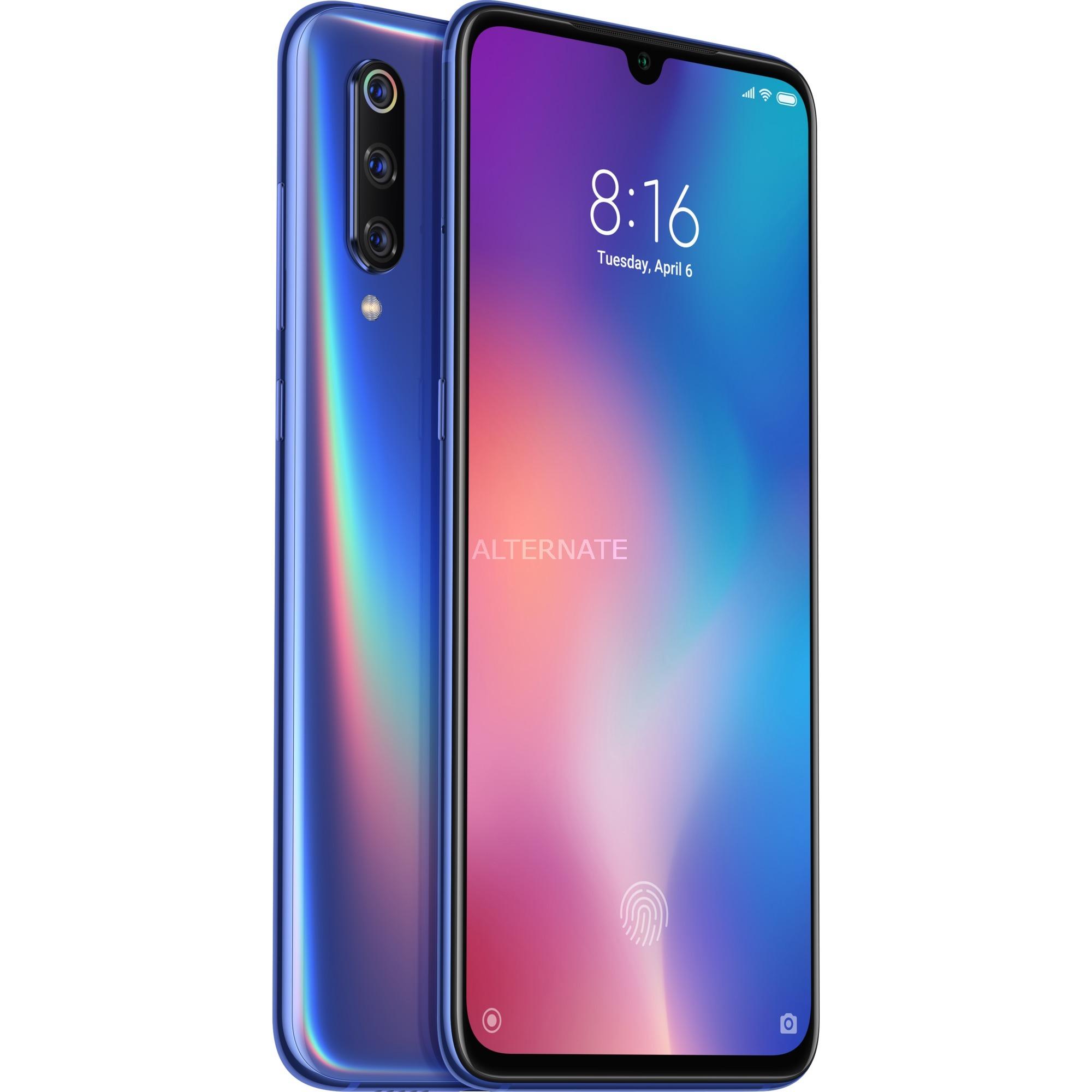 """Mi 9 16,2 cm (6.39"""") 6 GB 128 GB SIM doble 4G Azul 3300 mAh, Móvil"""