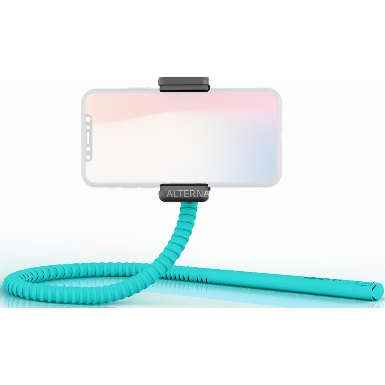 GEKKOSTICK palo para autofotos Smartphone Azul, Selfie Stick