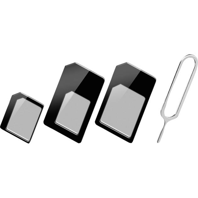 43929 SIM card adapter adaptador para tarjeta de memoria sim / flash, Tarjeta SIM