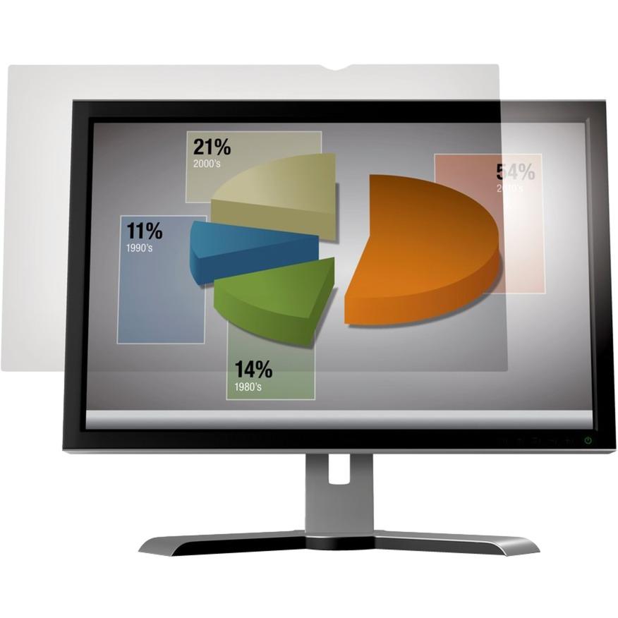 """Filtro antirreflejos de para monitor de escritorio con pantalla panorámica de 24"""", Protección contra deslumbramiento"""