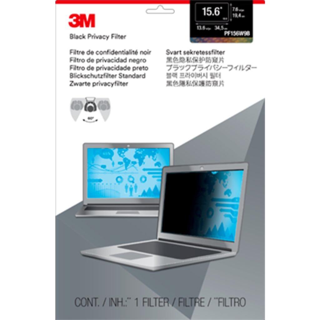Filtro de privacidad de para ordenadores portátiles con pantalla panorámica de 15,6