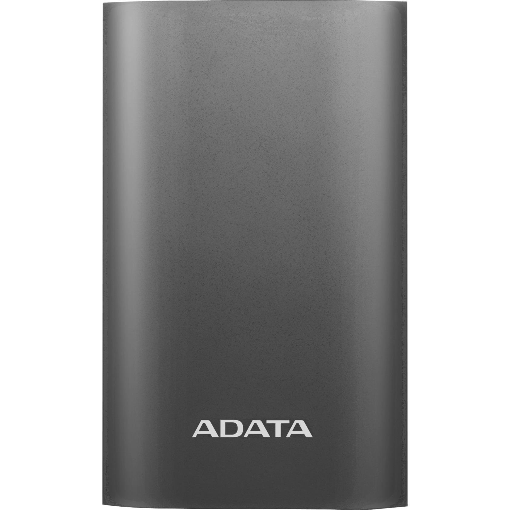 A10050QC batería externa Gris, Titanio Ión de litio 10050 mAh, Banco de potencia