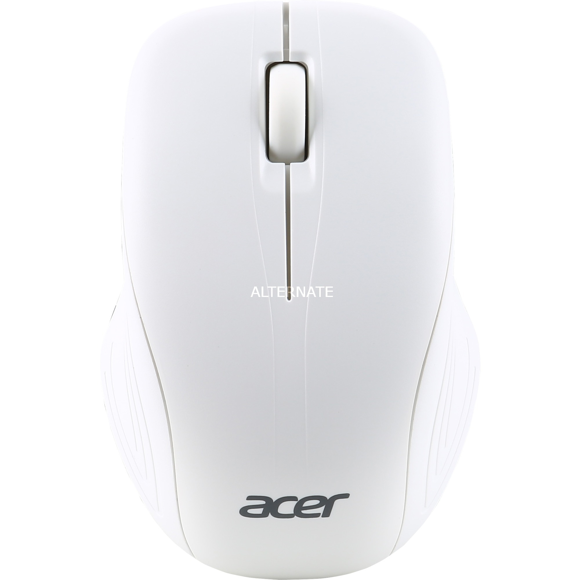 AMR510 RF inalámbrico Óptico 1000DPI Ambidextro Blanco ratón