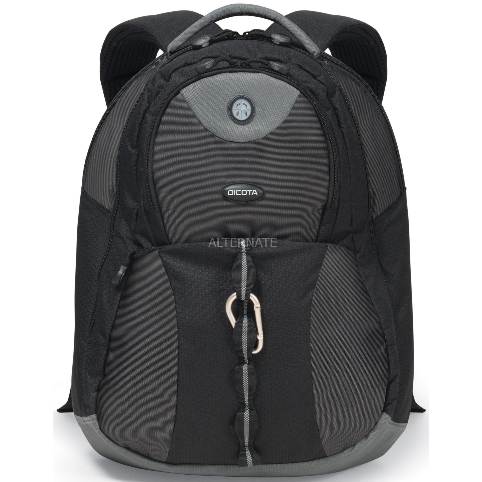 "BacPac Mission XL maletines para portátil 43,9 cm (17.3"") Funda tipo mochila Negro"