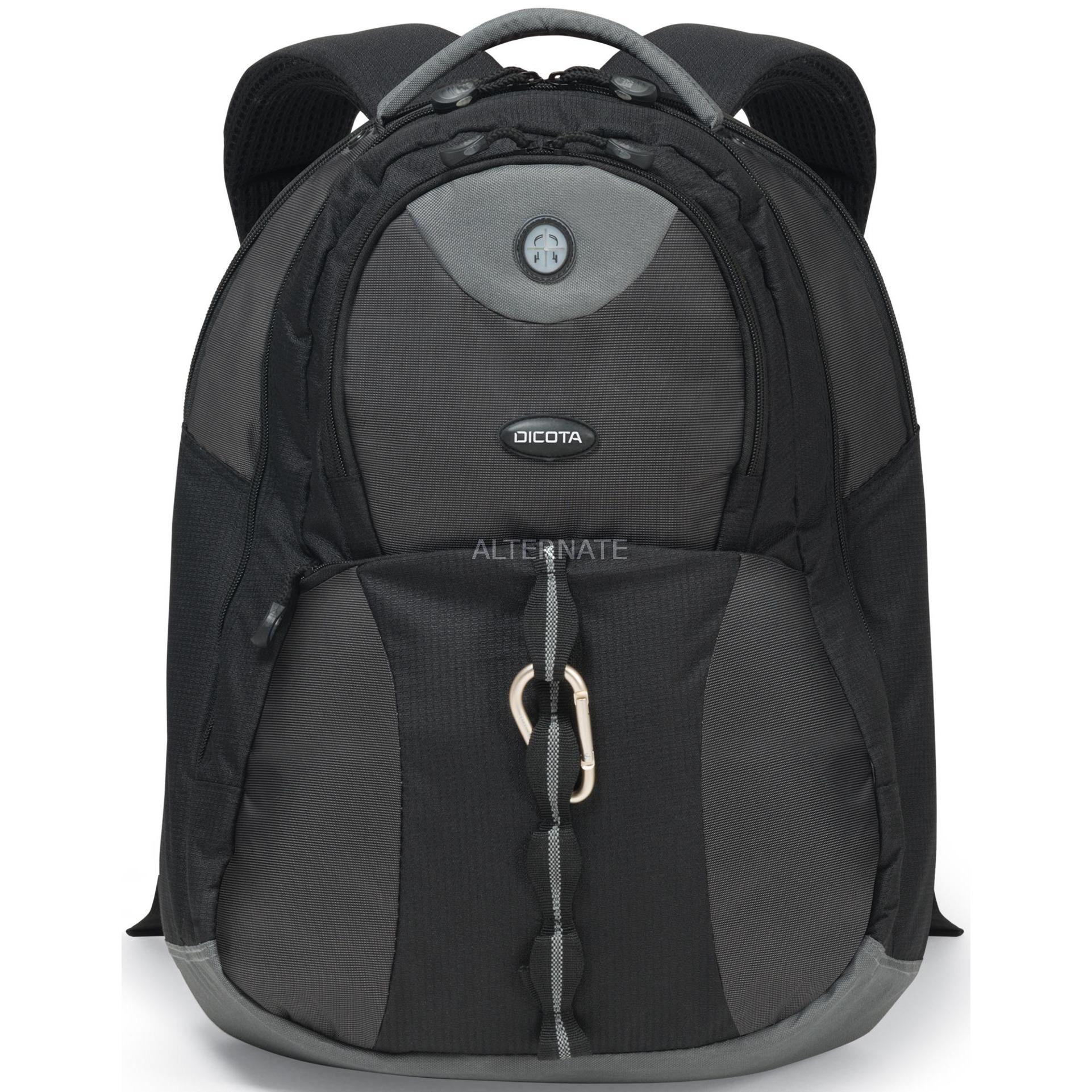 "BacPac Mission maletines para portátil 41,7 cm (16.4"") Funda tipo mochila Negro"