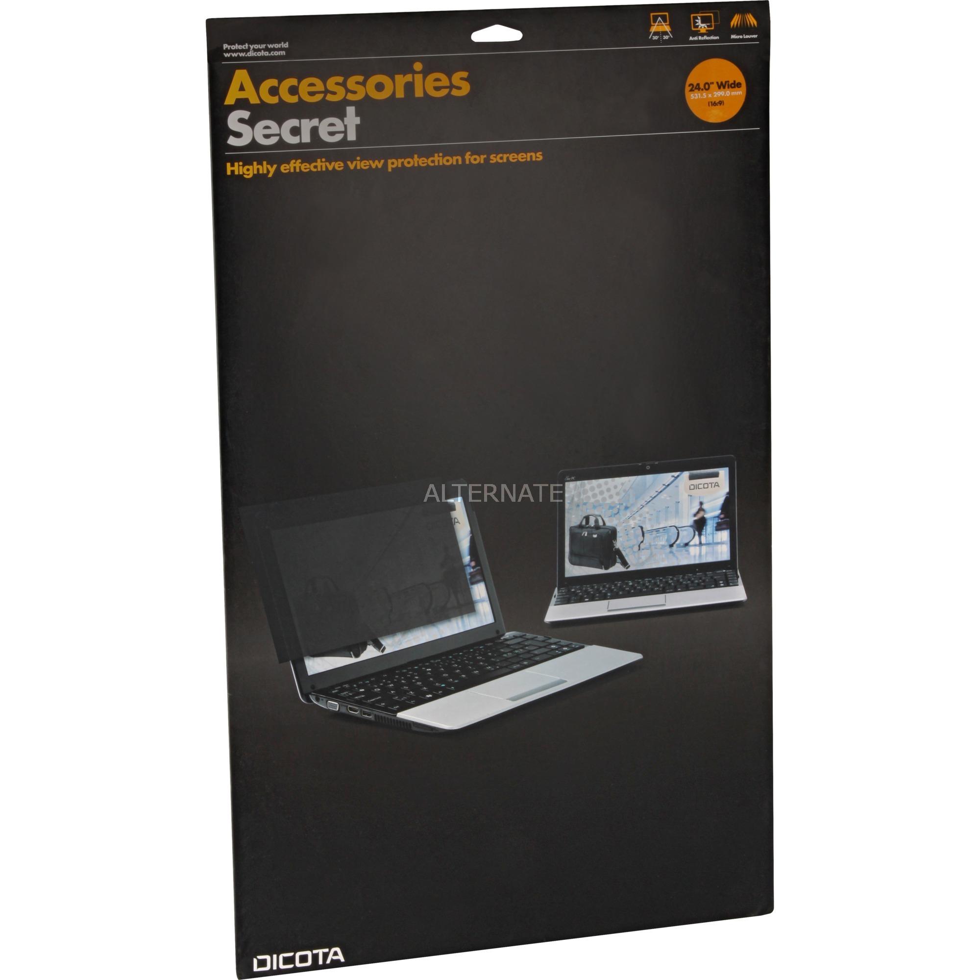 """D30125 filtro para monitor Protector de pantalla anti-reflejante 55,9 cm (22""""), Privacidad"""