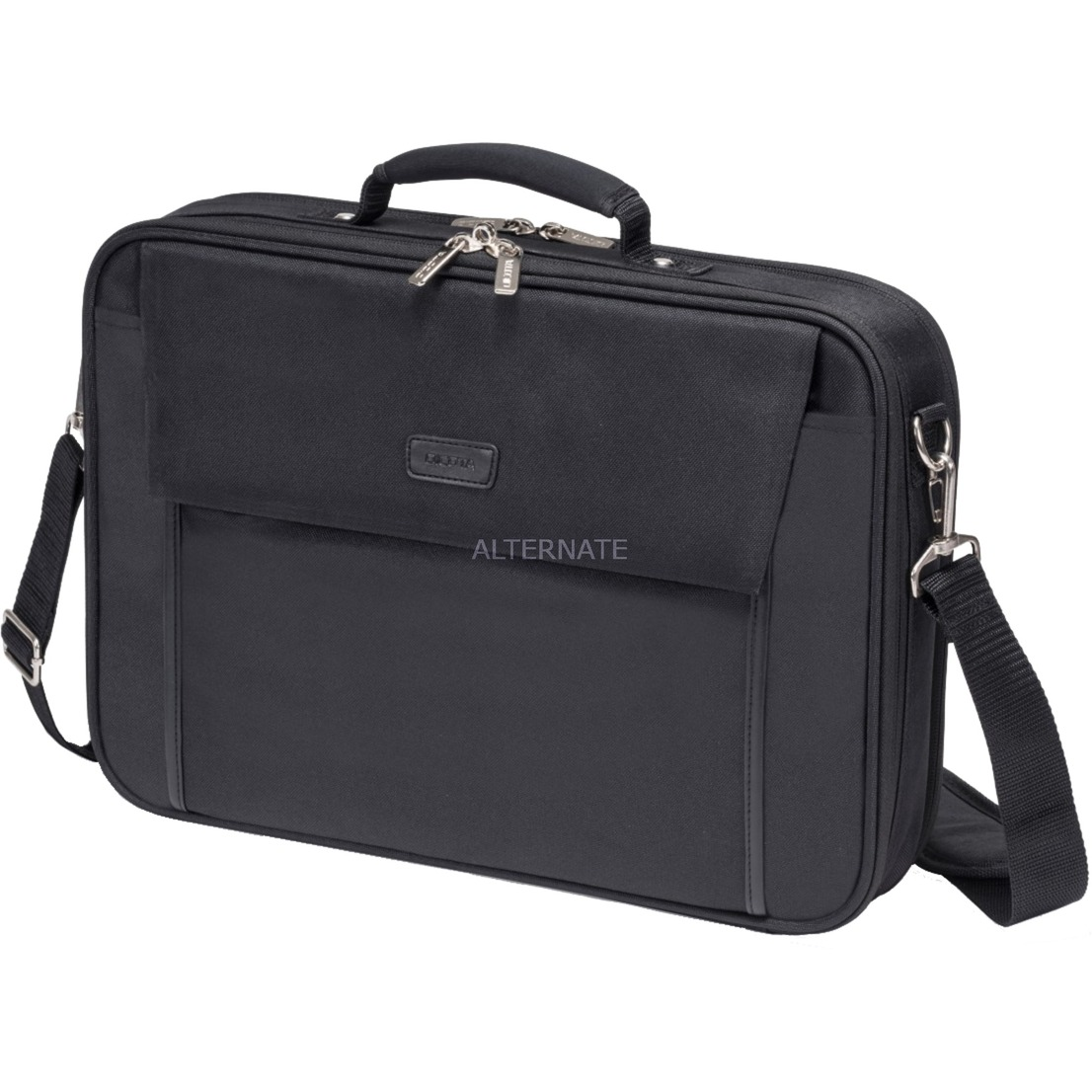 "D30492-V1 17.3"" Maletín Negro maletines para portátil, Bolsa"