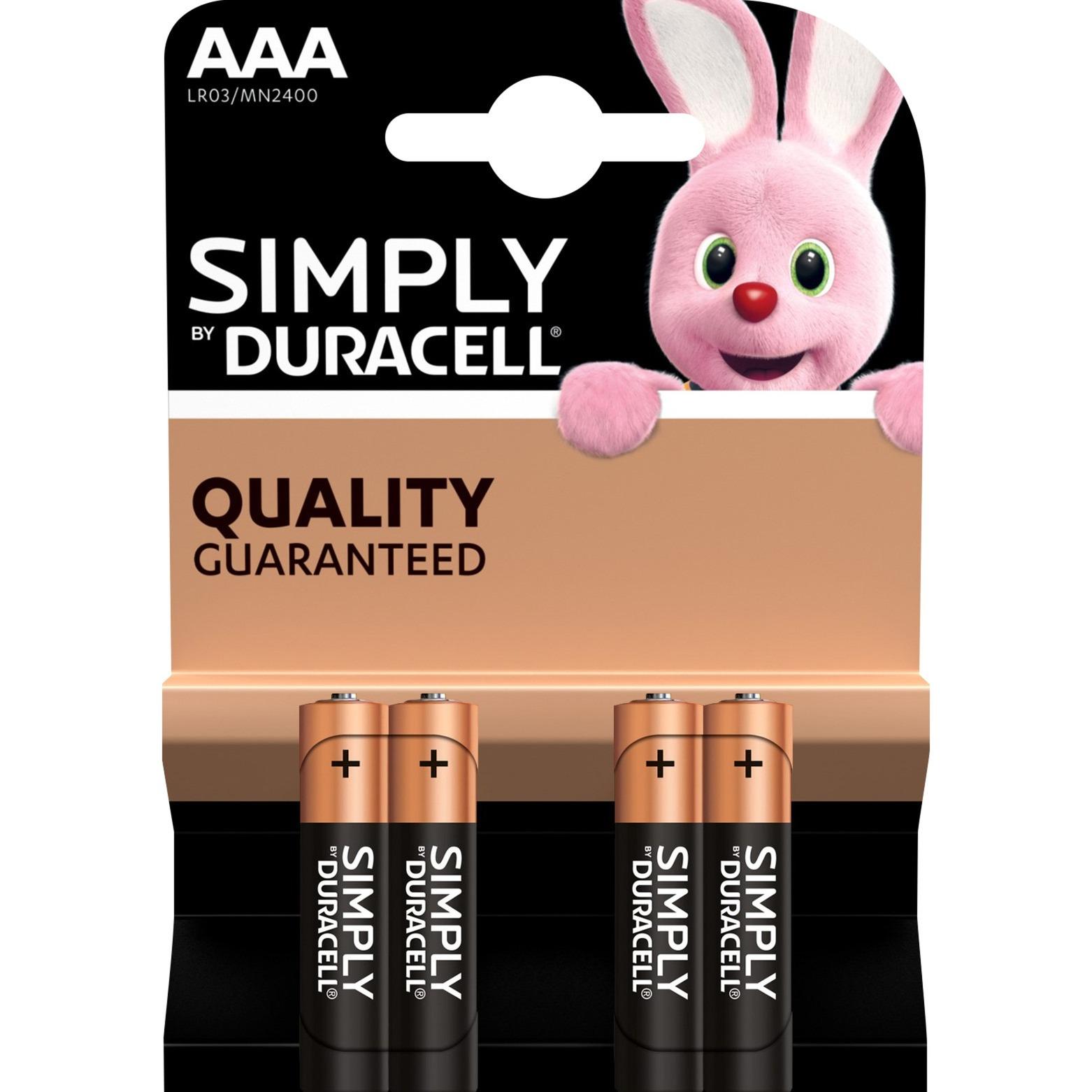 002432 pila doméstica Batería de un solo uso AAA Alcalino