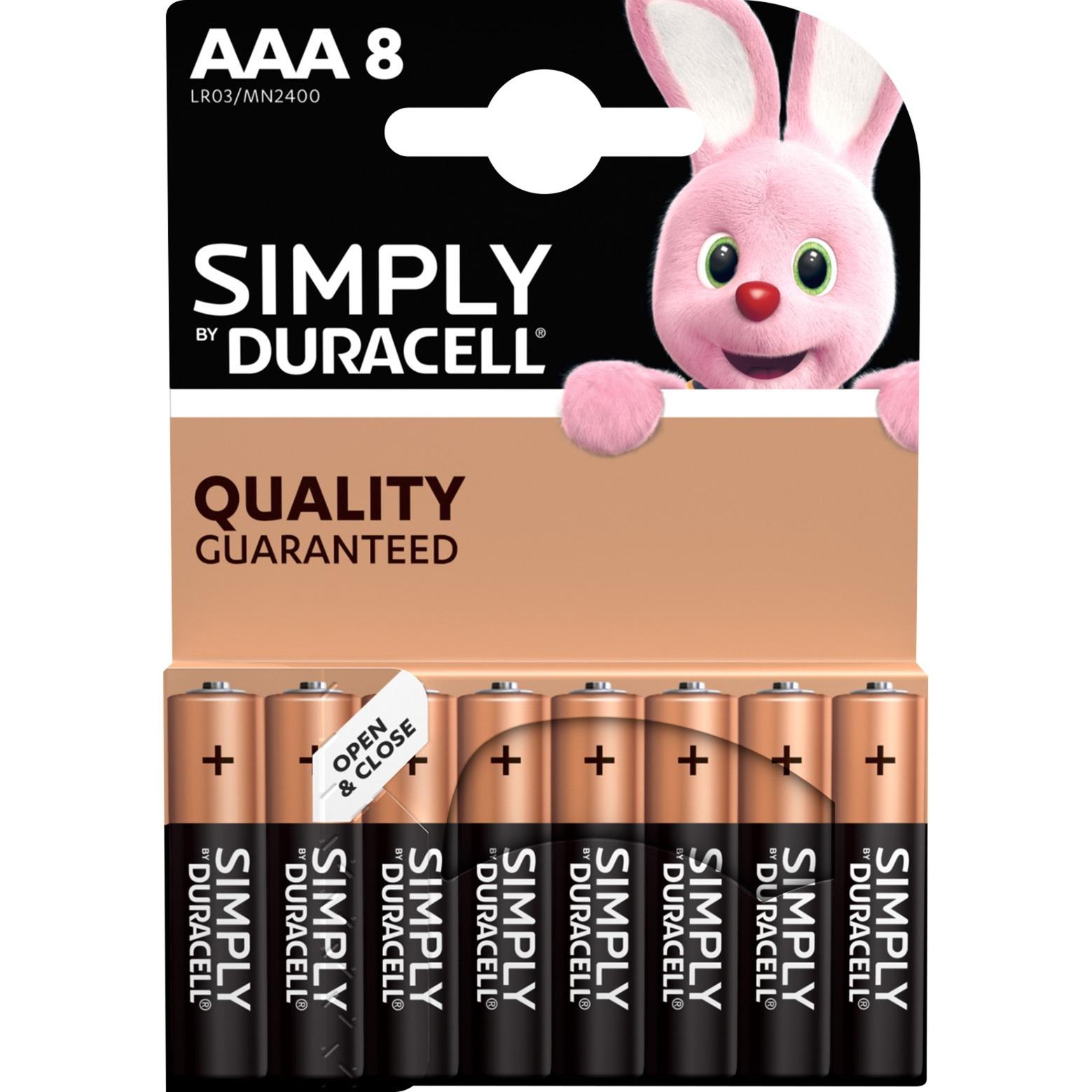 002463 pila doméstica Batería de un solo uso AAA Alcalino