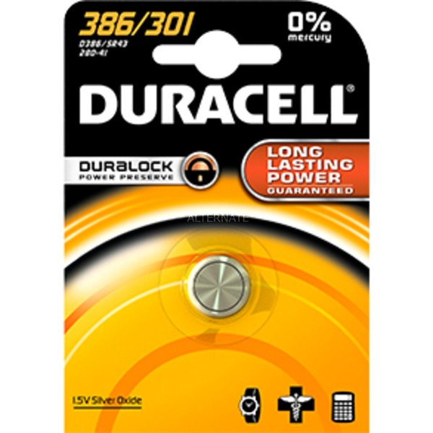301 De óxido de plata 1.5V batería no-recargable