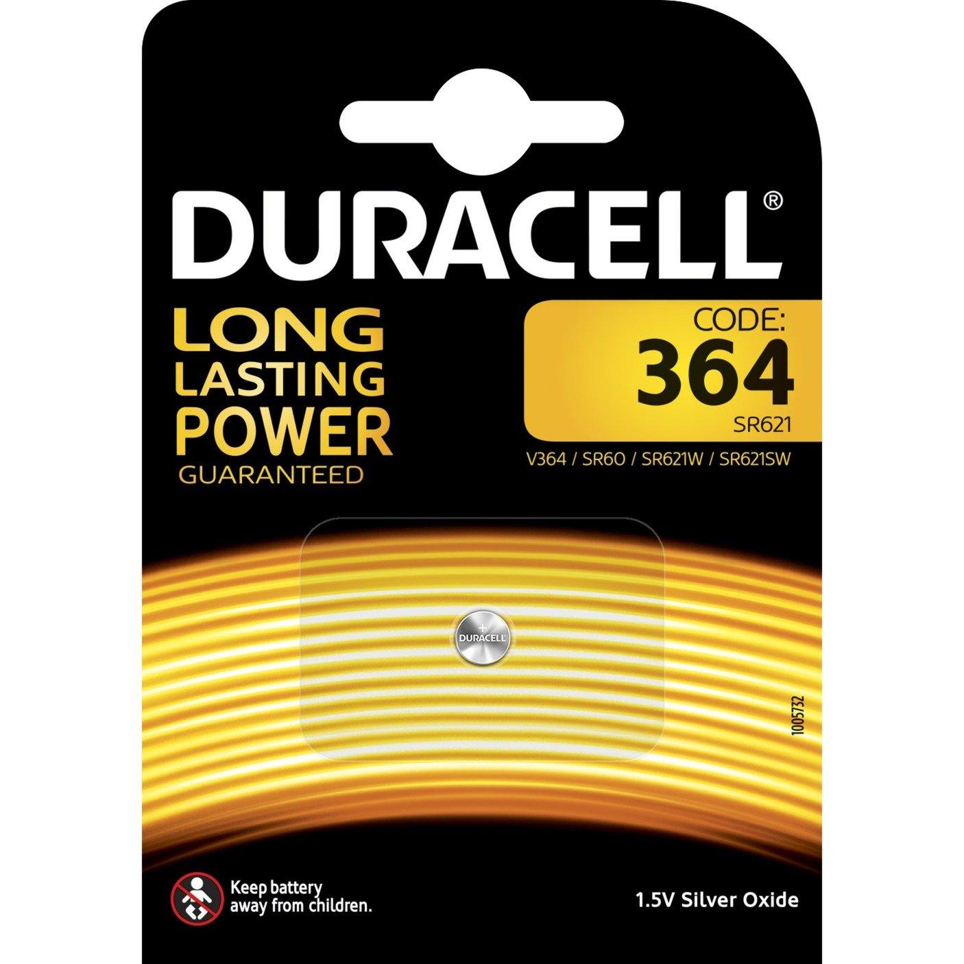 364 batería no-recargable Óxido de plata 1,5 V