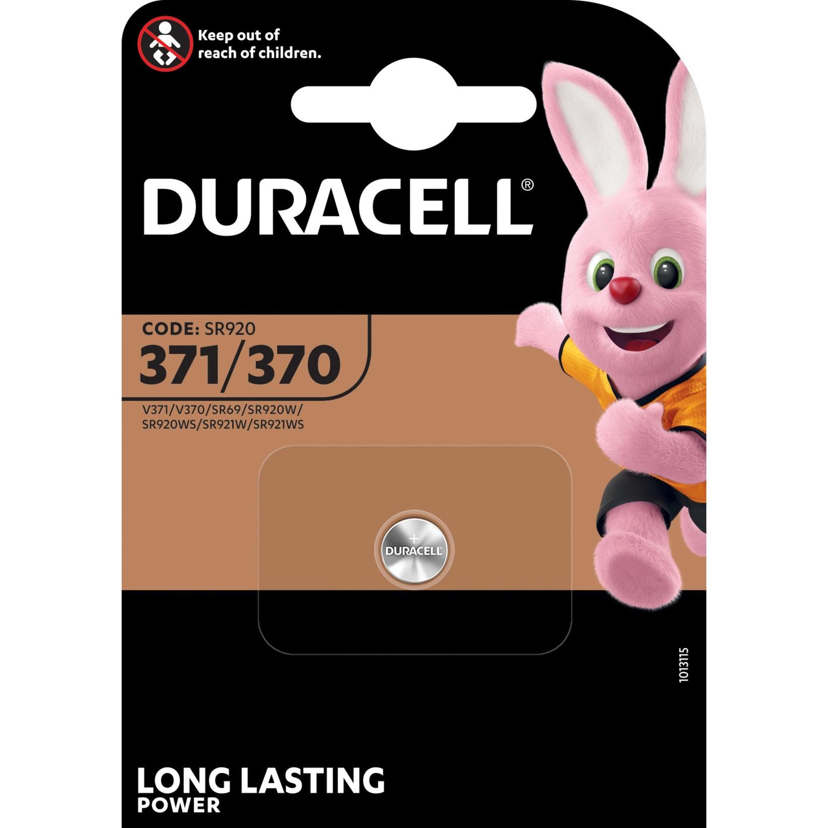 371/370 De óxido de plata 1.5V batería no-recargable