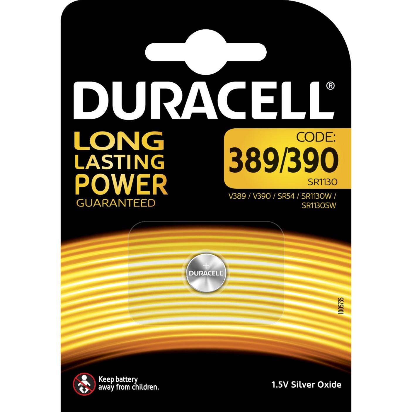 389/390 batería no-recargable Óxido de plata 1,5 V