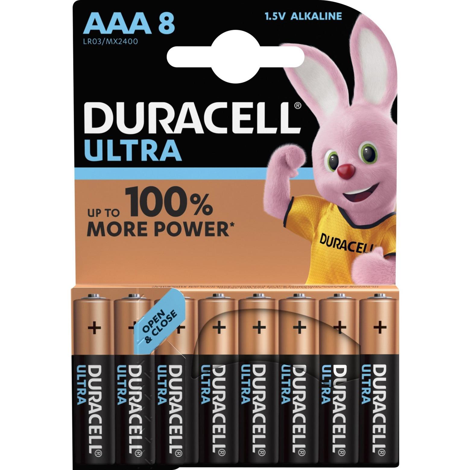 8x LR03 AAA Alcalino 1.5V batería no-recargable