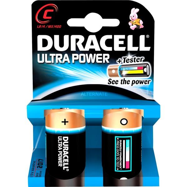 Duracell - Pack 2 Pilas C Ultra Power