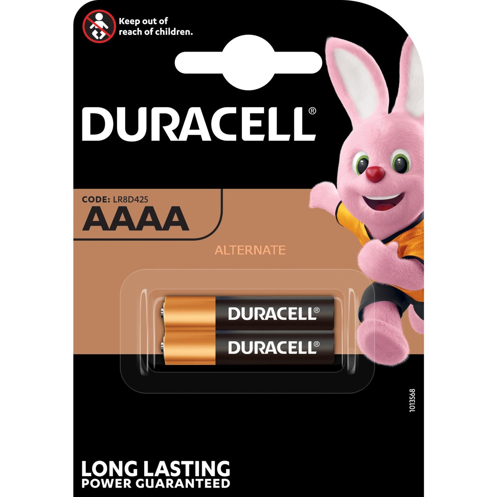 LR61 AAAA 2-BL Single-use battery Alcalino, Batería