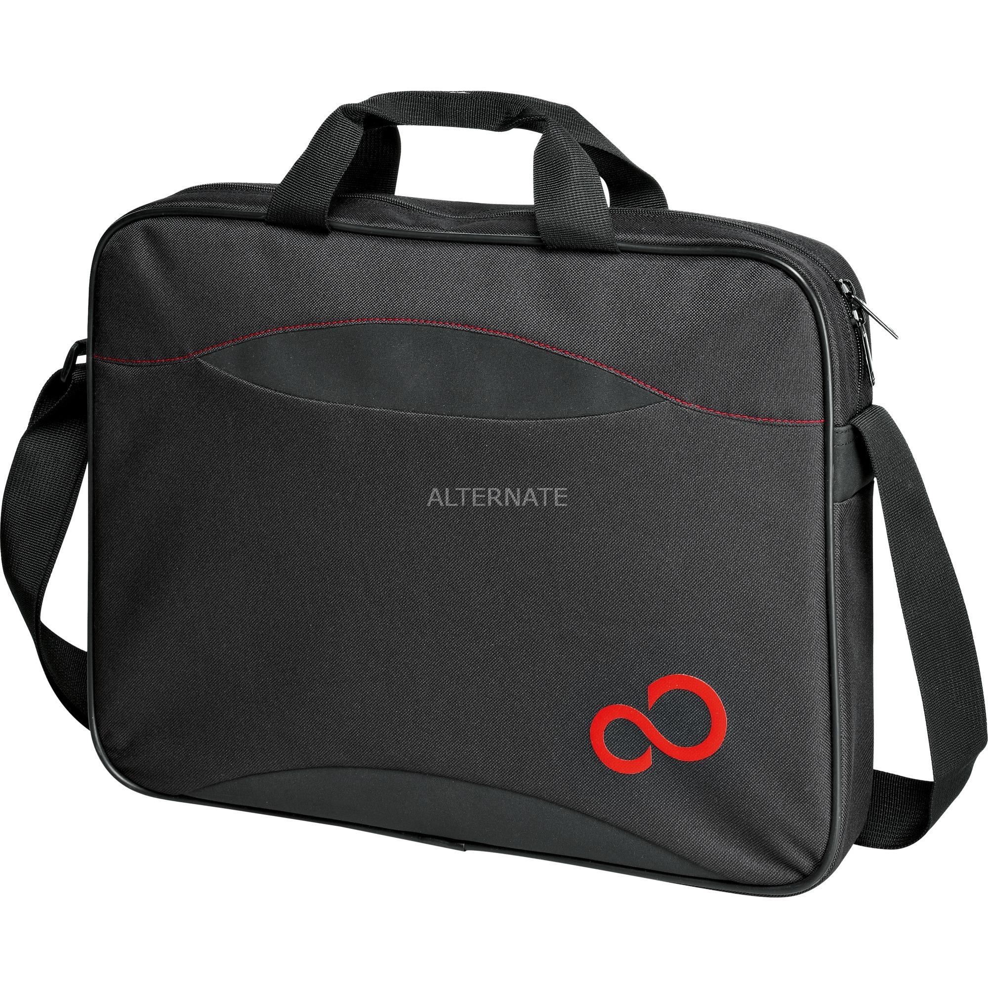"""Casual Entry Case 16 maletines para portátil 39,6 cm (15.6"""") Maletín Negro, Rojo, Bolsa"""