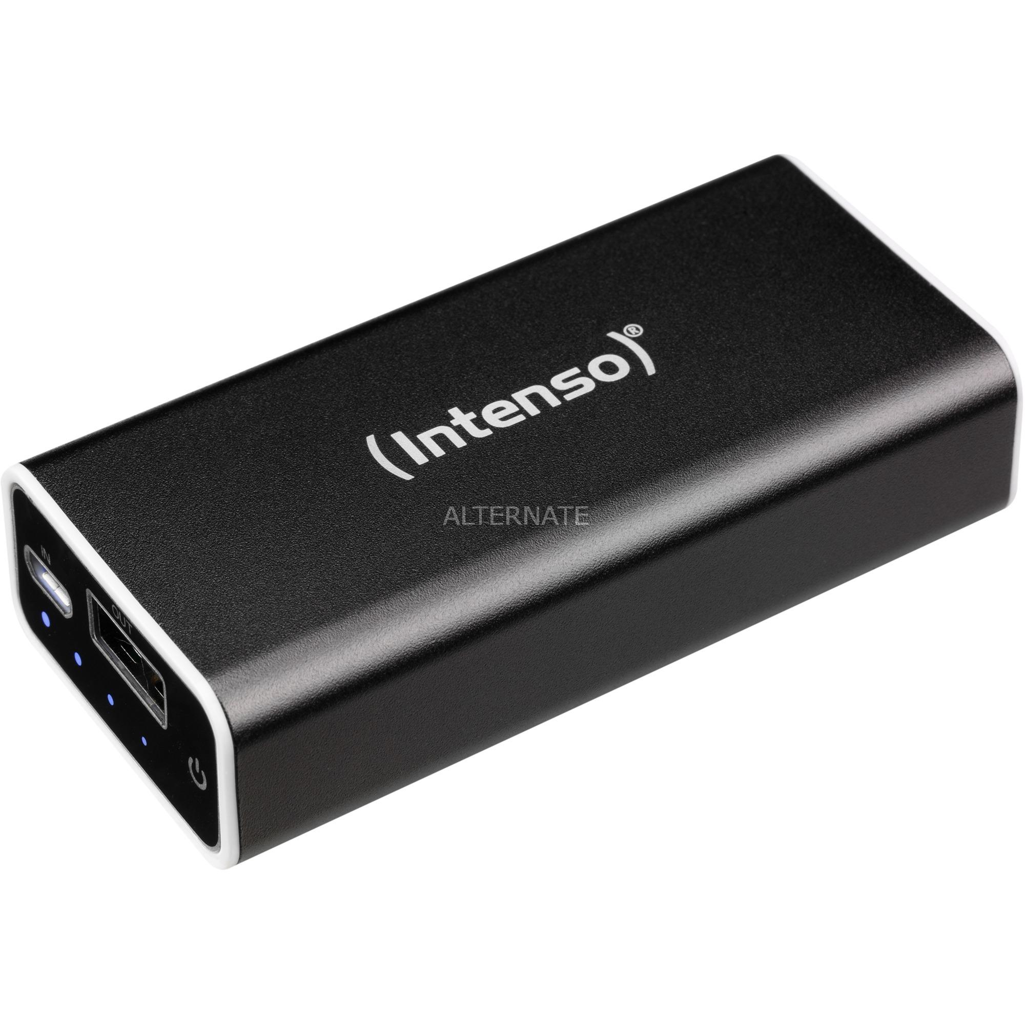 A5200 batería externa Negro Ión de litio 5200 mAh, Banco de potencia