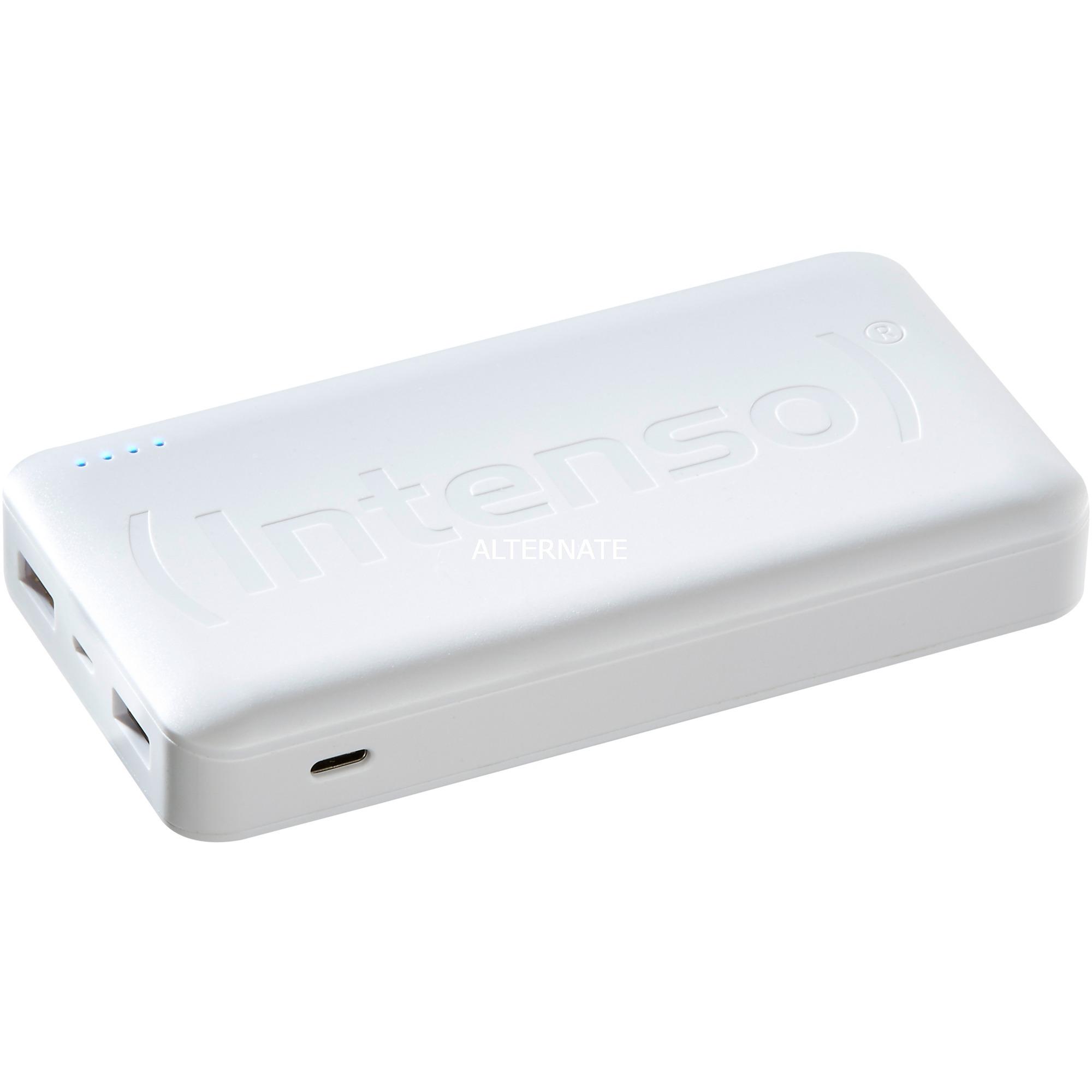 HC15000 batería externa Blanco Polímero de litio 15000 mAh, Banco de potencia