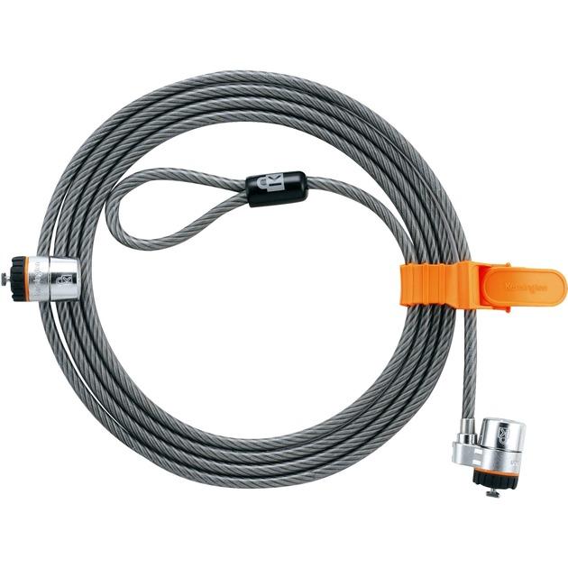 Cable de seguridad dobleMicroSaver paraordenadoresportátiles, Protección contra robos