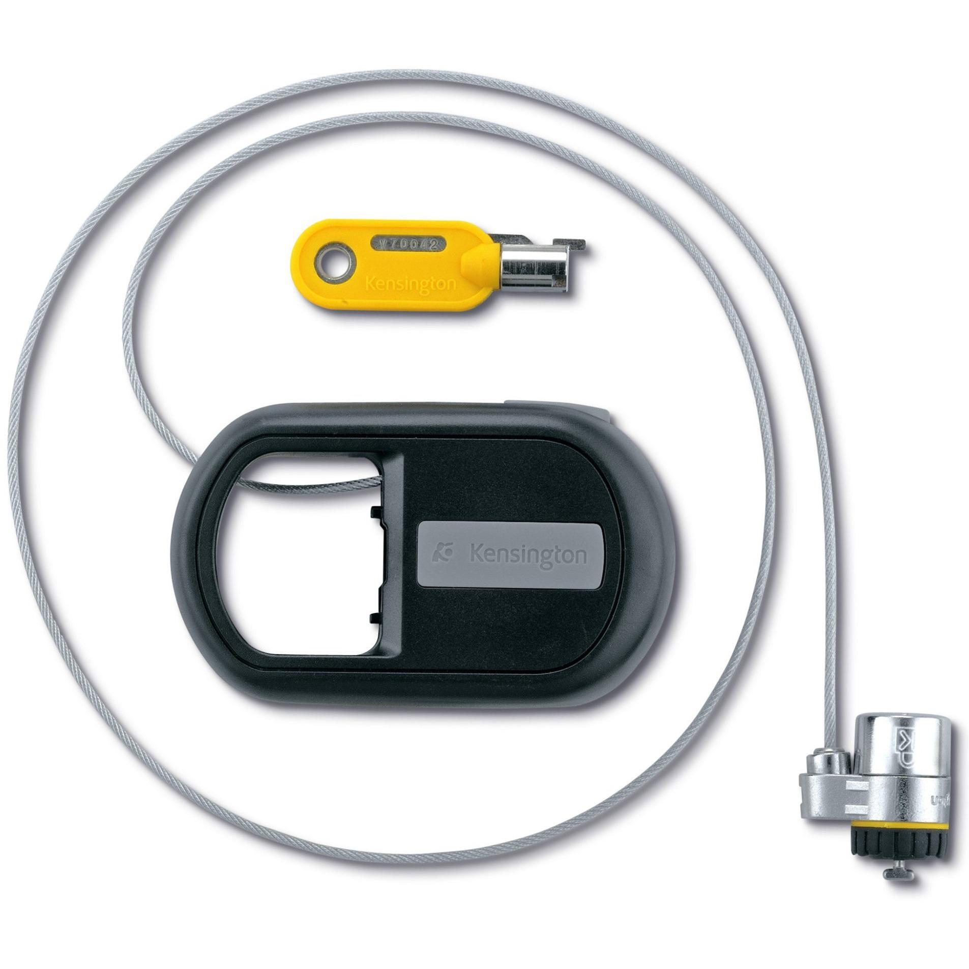 Cable de seguridad retráctil MicroSaver, Protección contra robos