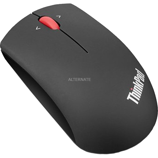 0B47163 RF inalámbrico Óptico 1200DPI Ambidextro Negro ratón