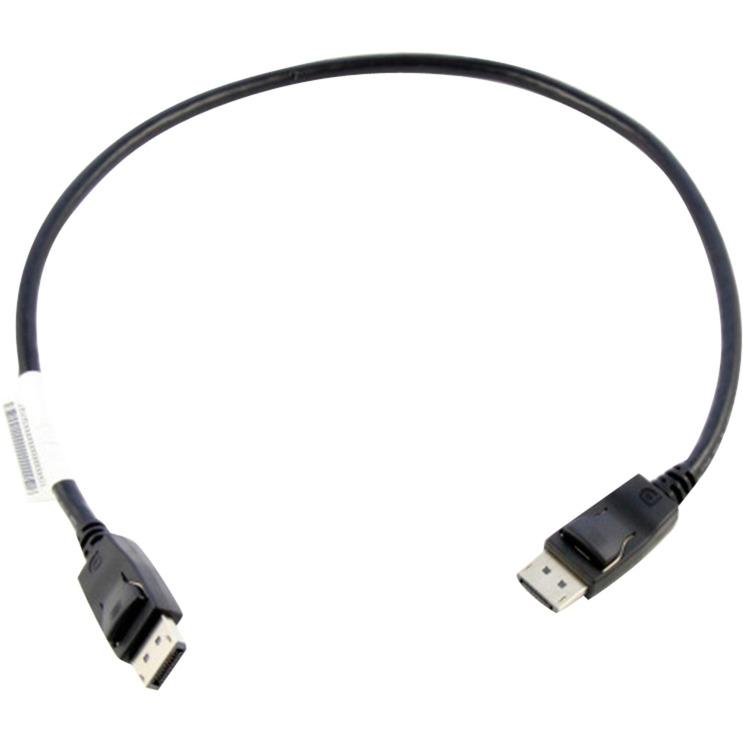 0.5m DisplayPort 0,5 m Negro, Cable