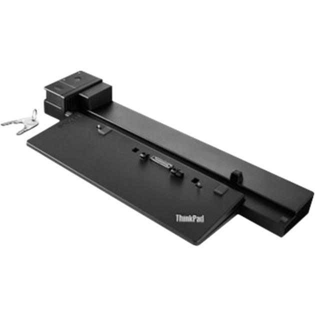 40A50230EU base para portátil y replicador de puertos Acoplamiento Negro, Estación de acoplamiento