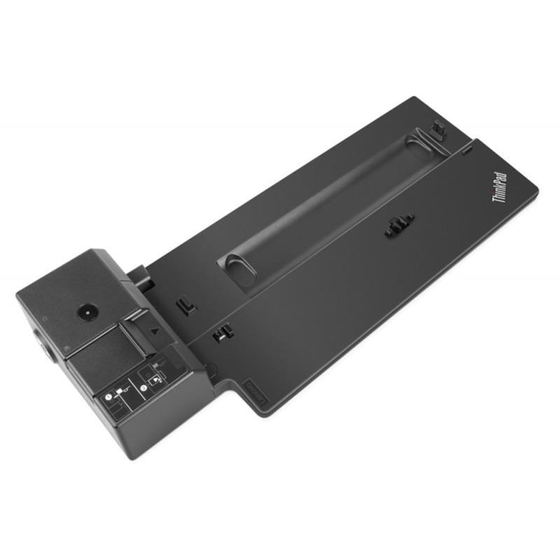 40AG0090EU Negro base para portátil y replicador de puertos, Estación de acoplamiento