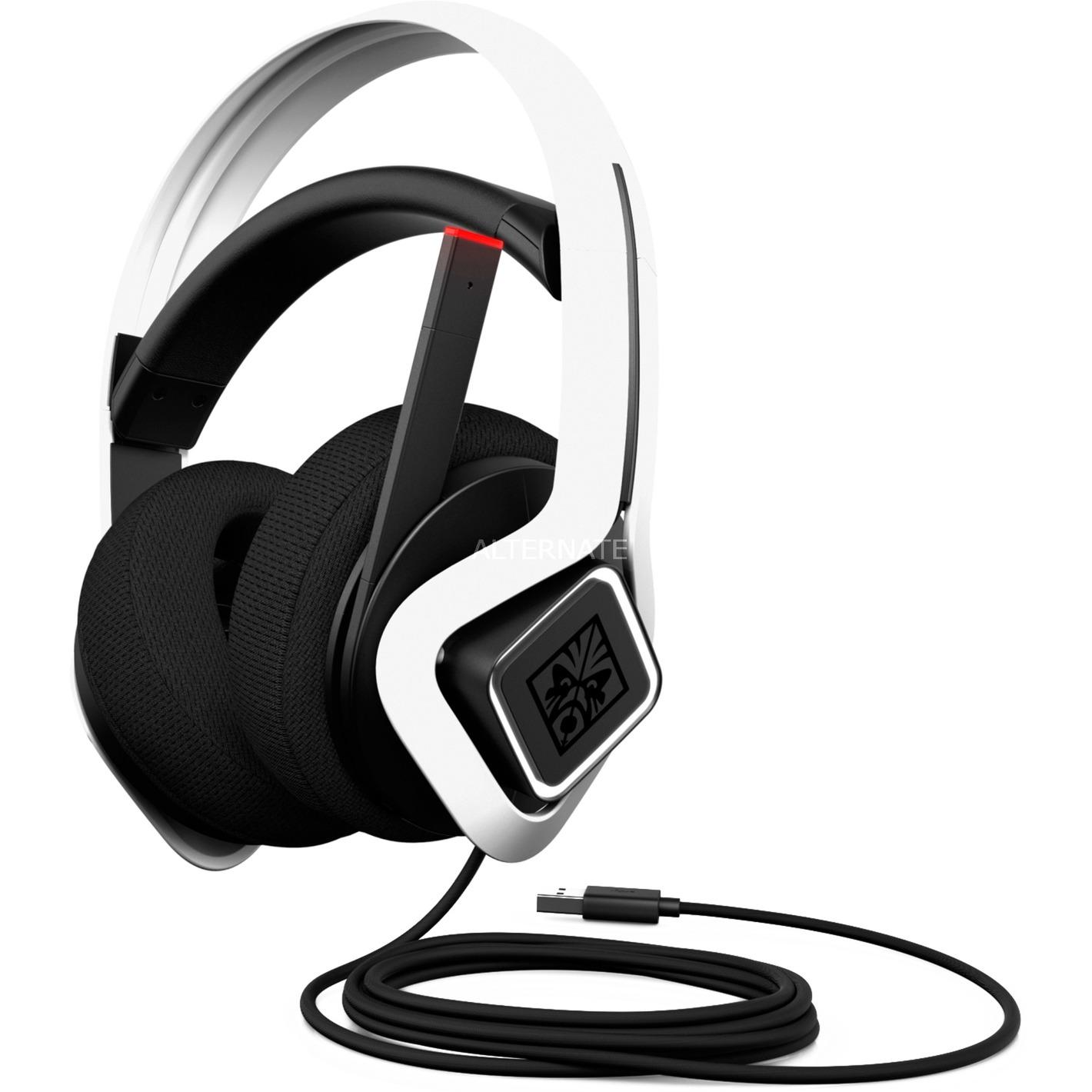 6MF36AA auricular y casco Auriculares Diadema Blanco, Auriculares con micrófono