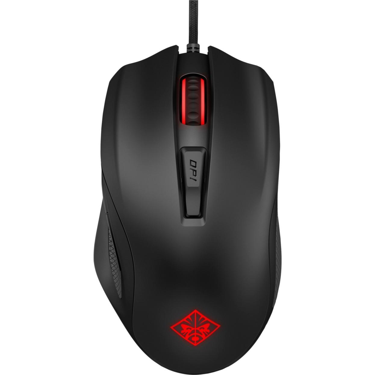 OMEN 600 ratón USB Óptico 12000 DPI mano derecha Negro