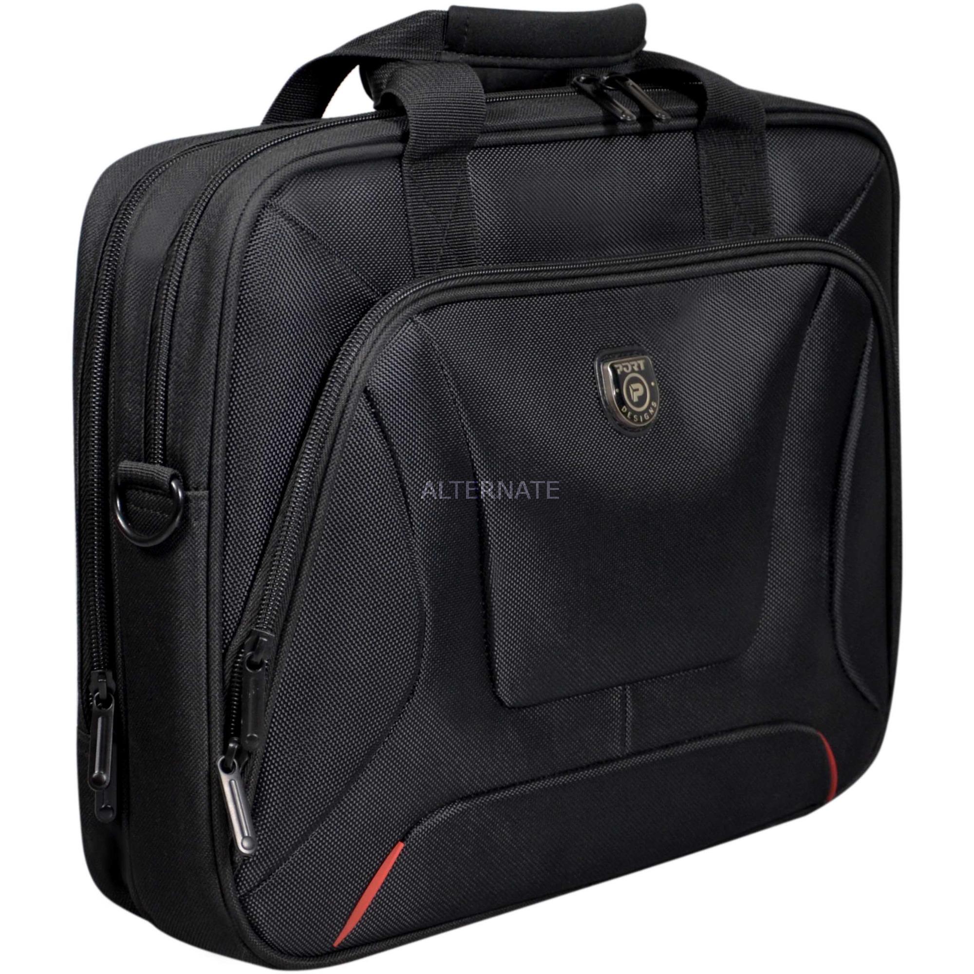 """COURCHEVEL maletines para portátil 39,6 cm (15.6"""") Maletín Negro, Bolsa"""