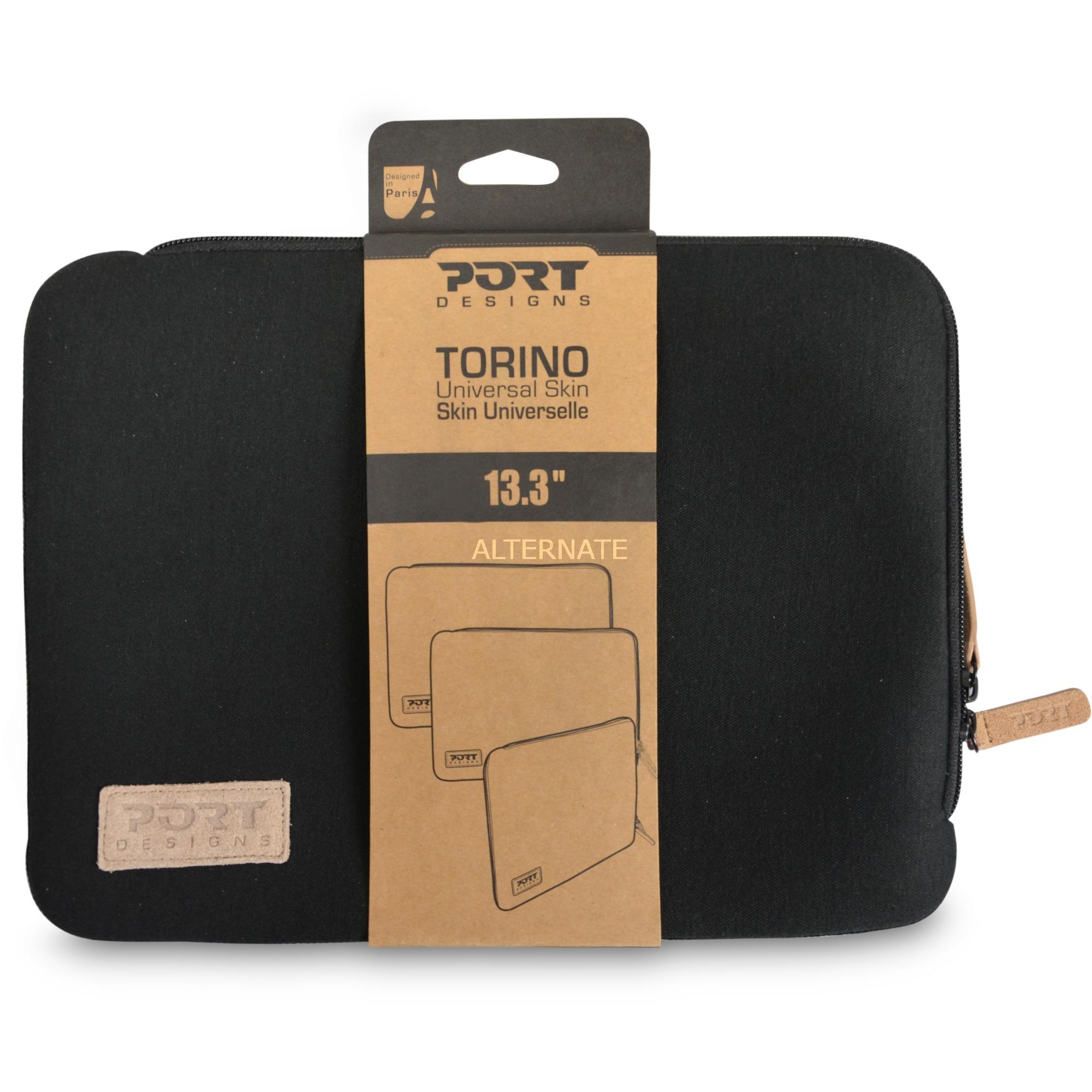 "TORINO 15.6"" maletines para portátil 39,6 cm (15.6"") Funda Negro, Bolsa"