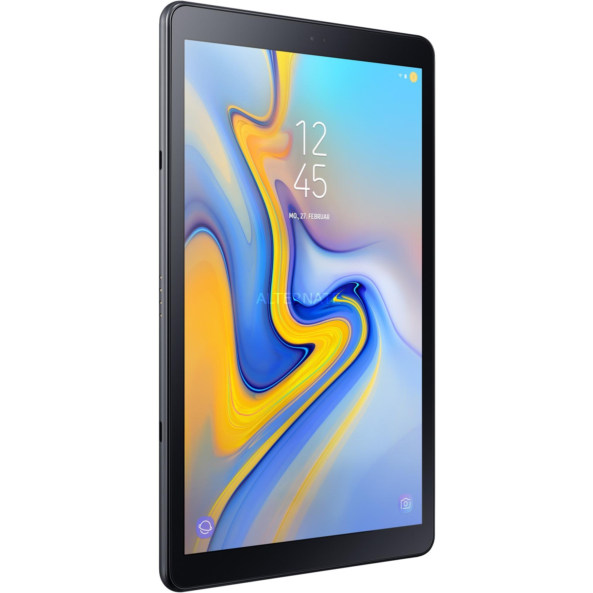Galaxy Tab A (2018) SM-T595N tablet Qualcomm Snapdragon 450 32 GB 3G 4G Negro, Tablet PC
