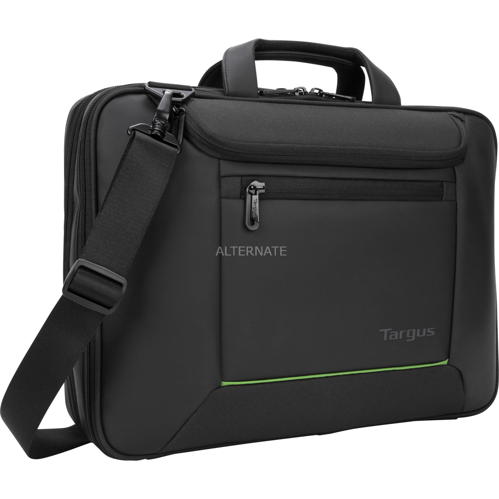 """Balance EcoSmart 15.6"""" maletines para portátil 39,6 cm (15.6"""") Maletín Negro, Bolsa"""