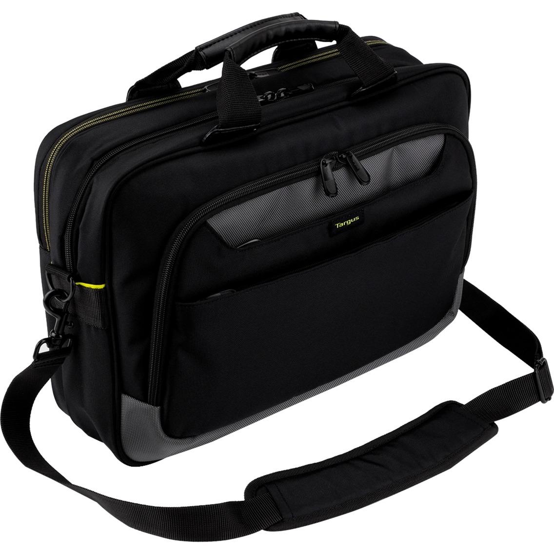 """CityGear maletines para portátil 39,6 cm (15.6"""") Bandolera Negro, Bolsa"""
