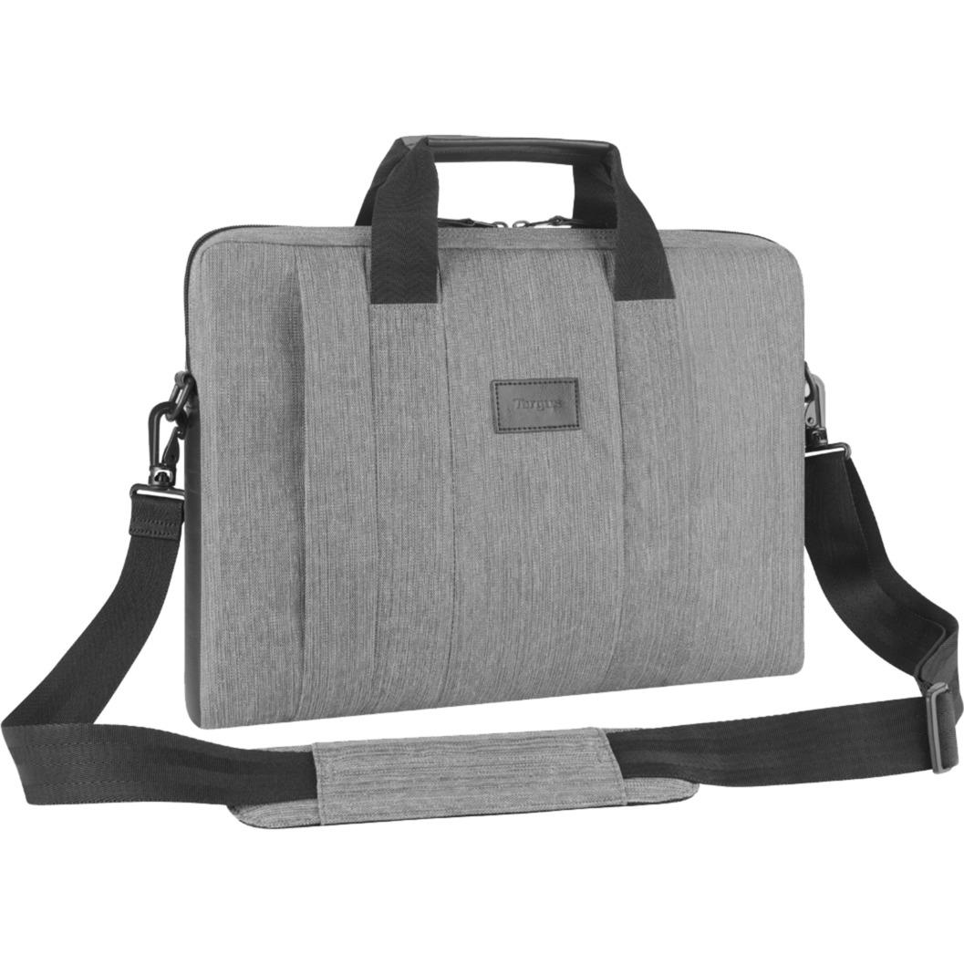 Elegante maletín para portátil gris - Estuche para ordenador Smart City, Bolsa