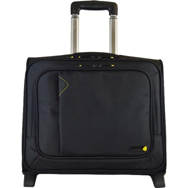 "3901V4 15.6IN BLACK 39,6 cm (15.6"") Trolley case Negro, Carretilla"
