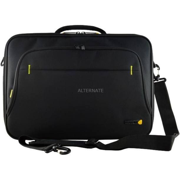 "TANZ0108V3 maletines para portátil 39,6 cm (15.6"") Bandolera Negro, Bolsa"
