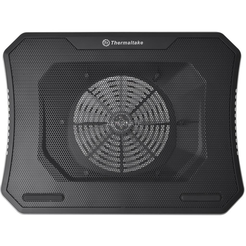 """Massive 20 RGB 19"""" 800RPM Negro almohadilla fría, Refrigerador para portátil"""