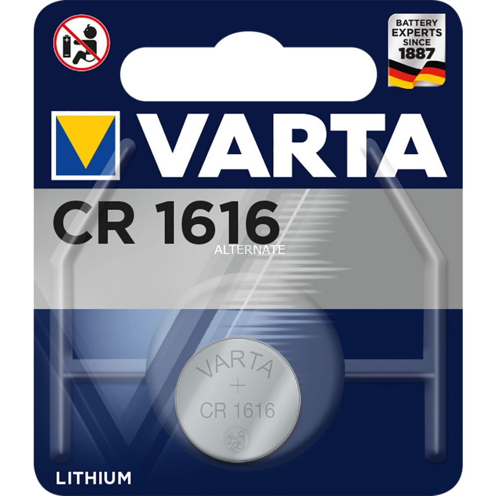 -CR1616 Pilas domésticas, Batería