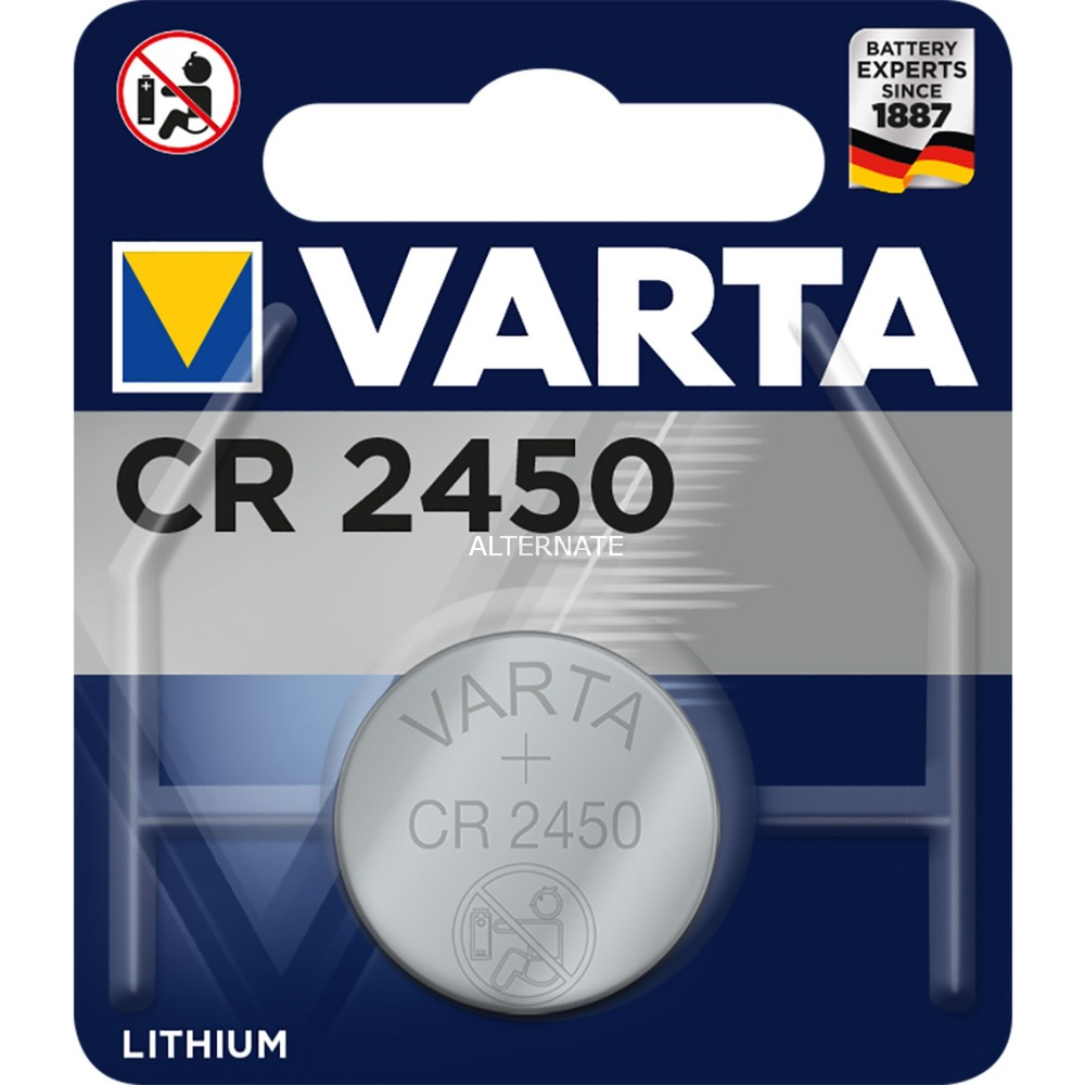 -CR2450 Pilas domésticas, Batería