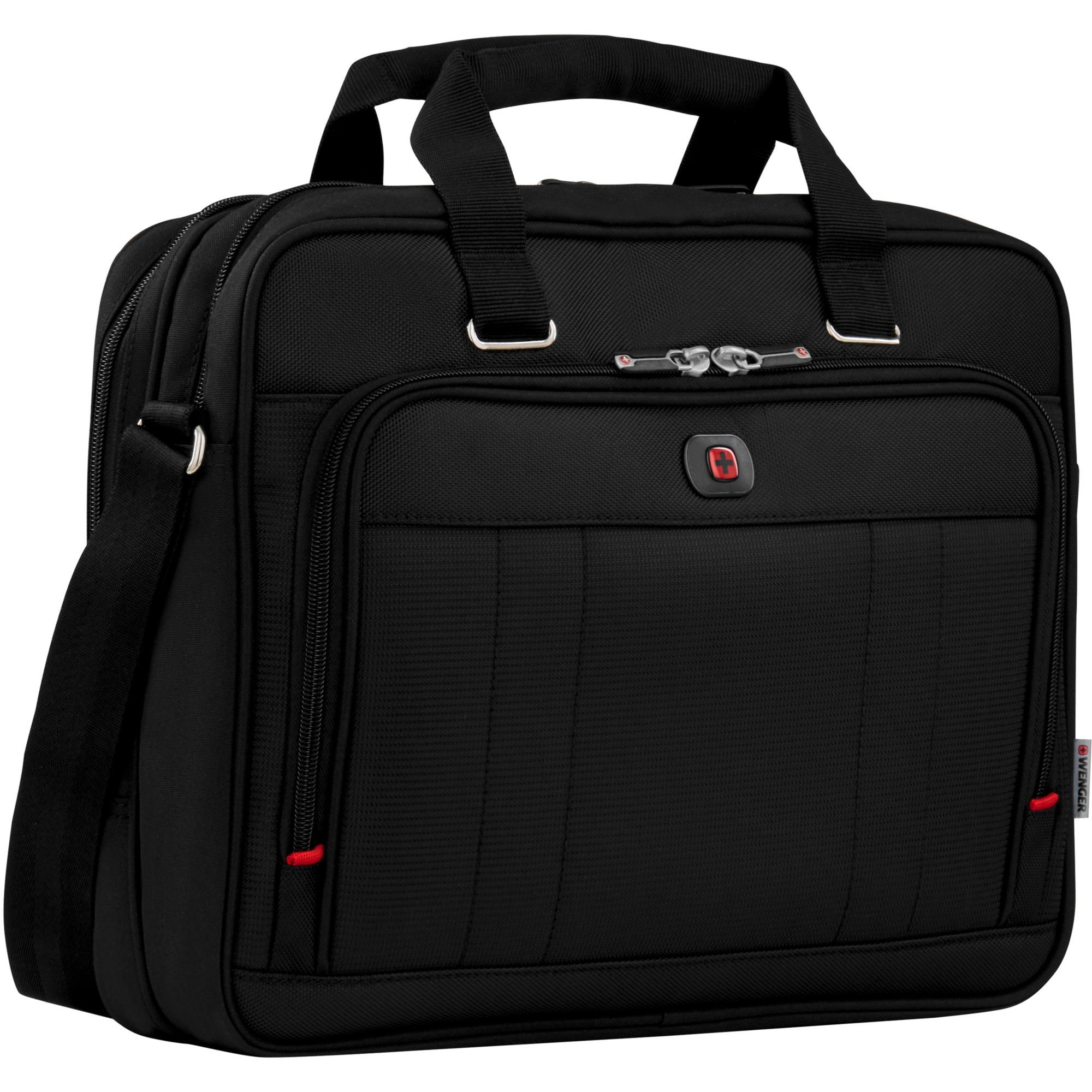 "600645 16"" Maletín Negro maletines para portátil, Bolsa"