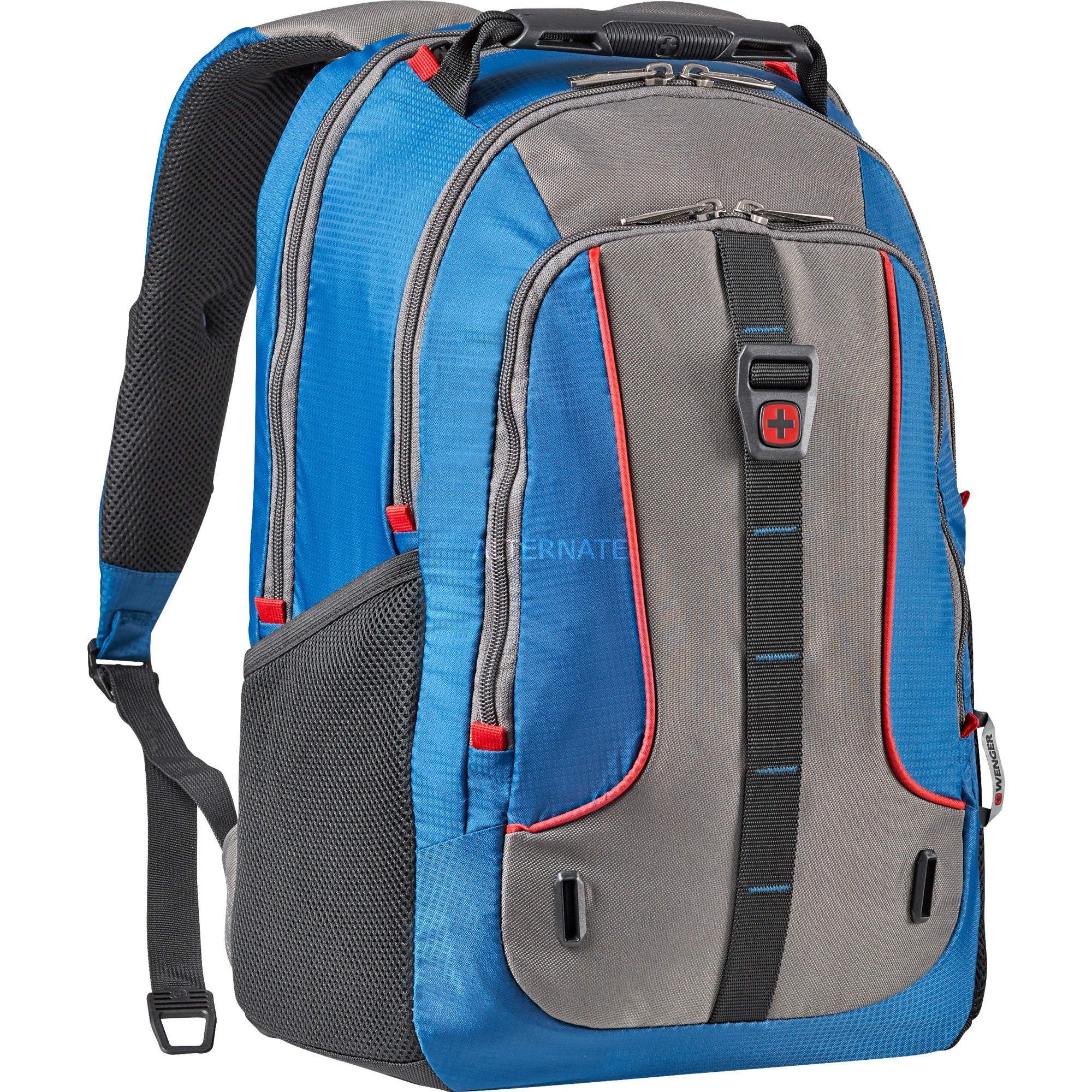 Enyo 16'' mochila Poliéster Azul, Gris