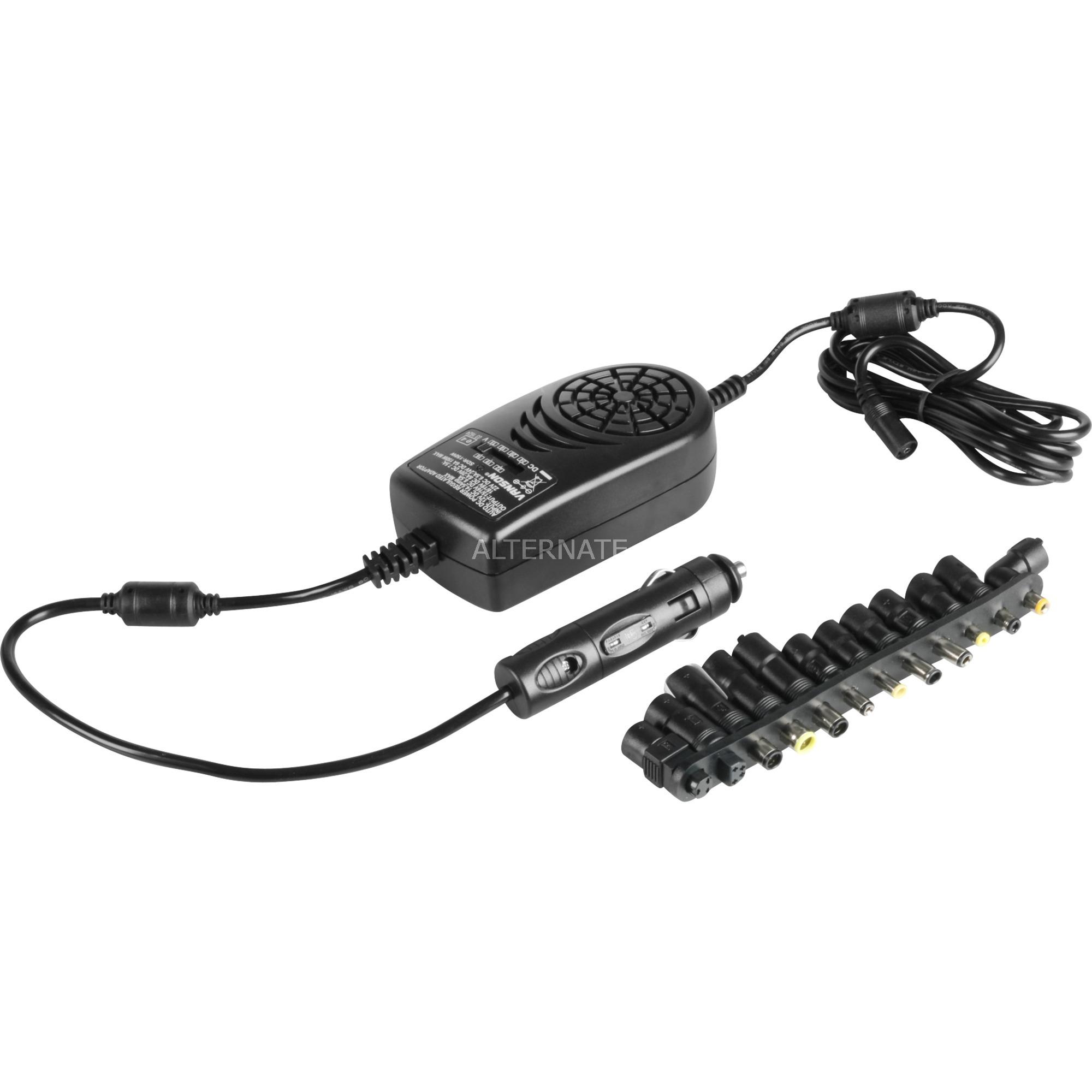 54747 adaptador e inversor de corriente 150 W Auto Negro, Fuente de alimentación