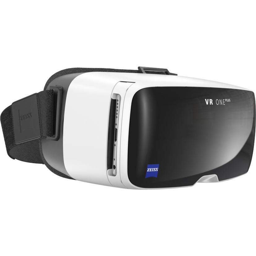 VR ONE Plus Gafas de realidad virtual Negro, Color blanco, Gafas de Realidad Virtual (VR)