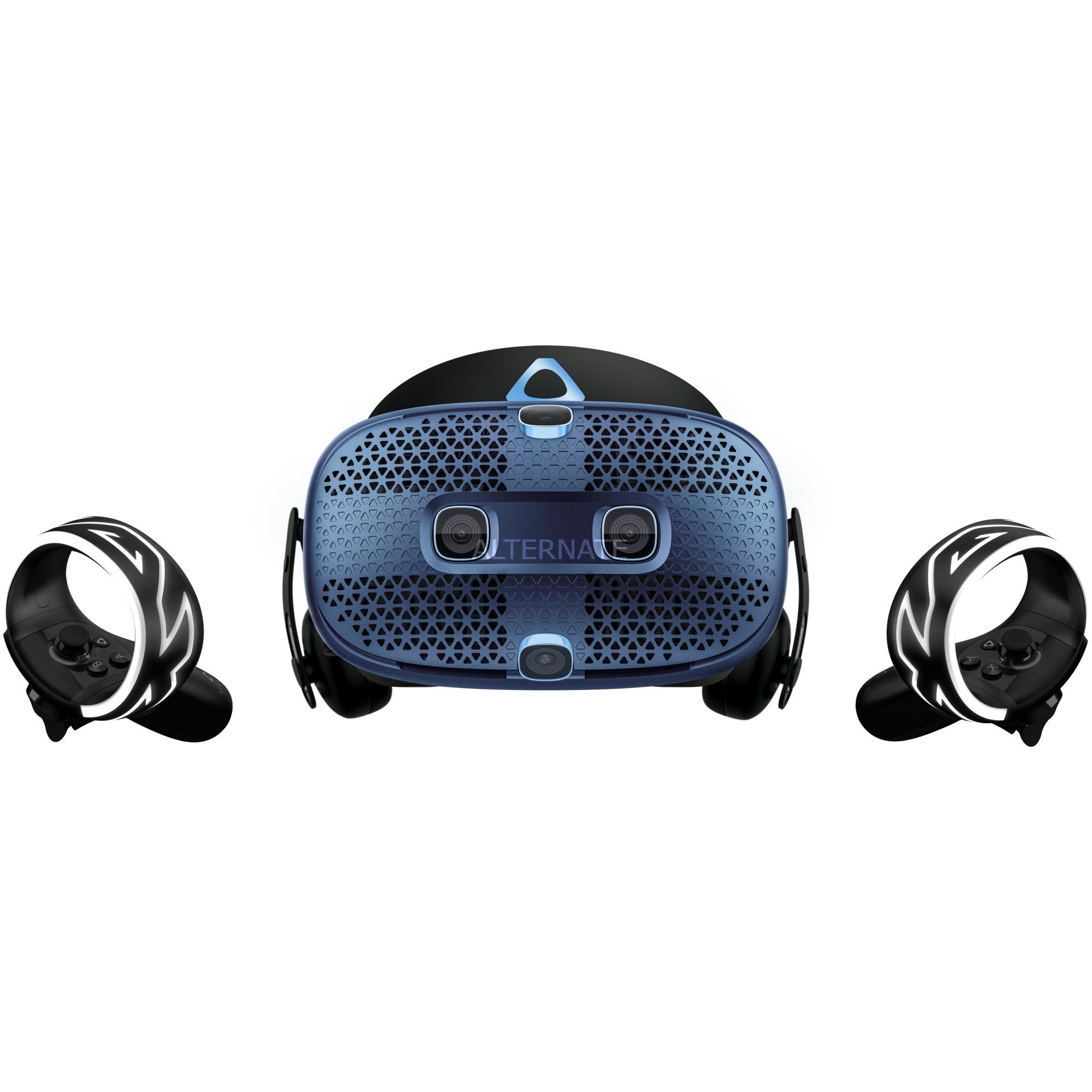 Cosmos Virtual Reality Headset Pantalla con montura para sujetar en la cabeza Azul, Indigo, Gafas de Realidad Virtual (VR)