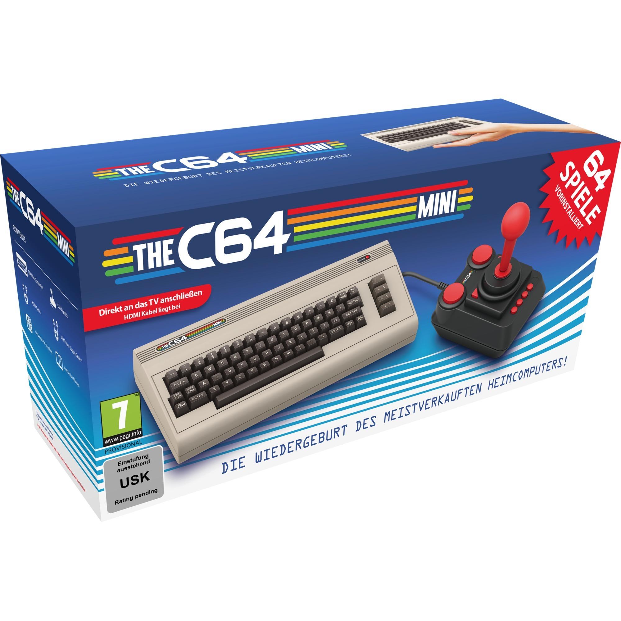 The C64 Mini, Videoconsola